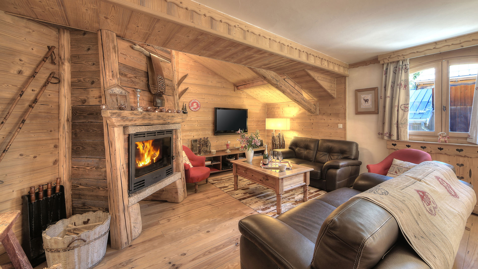 Appartements du chalet Antares à Courchevel 1650